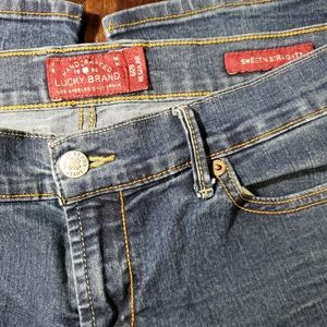 Sx 6/28 Lucky Brand Sweet N' Straight jeans